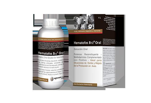 Evaluación del producto comercial HEMATOFOS B12® administrado vía oral en pollos de carne
