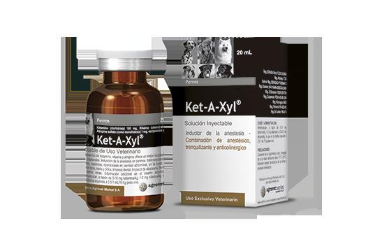 Ket-A-Xyl® inductor de la anestesia - combinación de anestésico, tranquilizante y anticolinérgico.