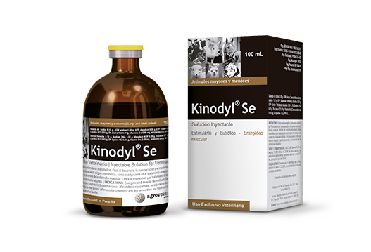 Kinodyl® Se stimulant and energetic muscle eutrophic