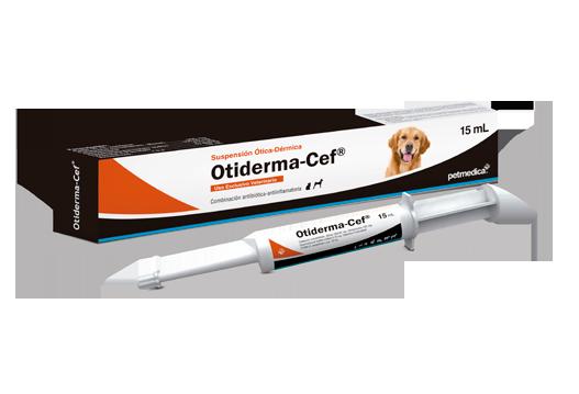 Determinación de la eficacia in vivo de una fórmula comercial a base de Cefalexina, Gentamicina, Dexametasona y Vitamina A (Otiderma-Cef®) para el tratamiento de otitis bacteriana en caninos.