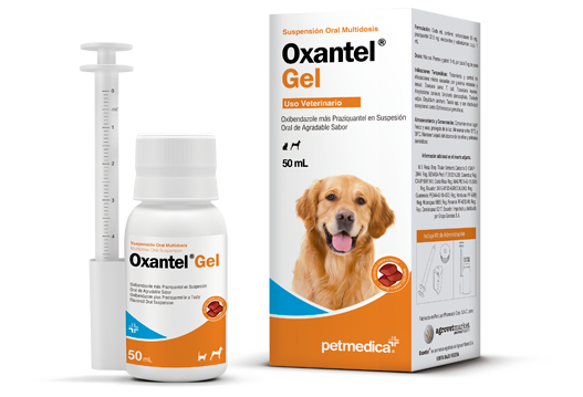 Oxantel® gel multi-spectrum antiparasitic