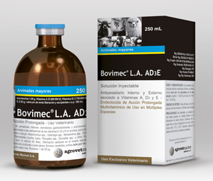 Bovimec® L A  AD3E | Ivermectin | Vitamin A | Vitamin D3 | Vitamin E